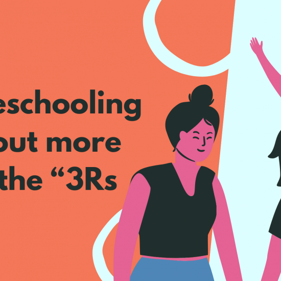 """Homeschooling is about more than the """"3Rs"""