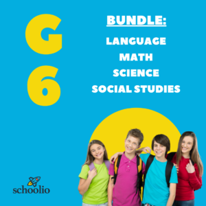 Schoolio homeschooling for canadian curriculum grade 6 all subjects