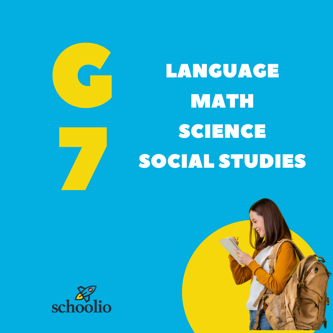 Schoolio homeschooling for canadian curriculum grade 7 all subjects