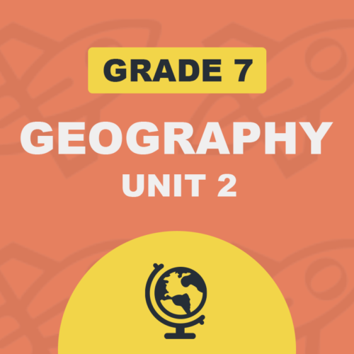 ON 7 GEOGRAPHY UNIT2