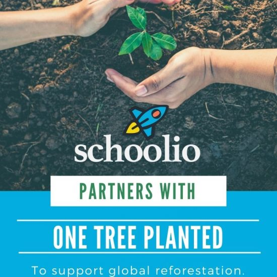 One Tree Planted Partners with Schoolio